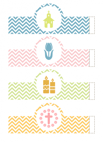Easter Egg Wrappers and Easter Egg Basket FREE Printables