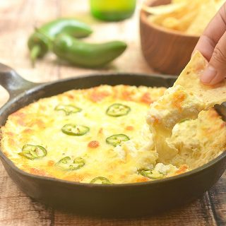 Cheesy Jalapeno Popper Dip