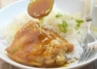 Instant Pot Honey Lemon Chicken