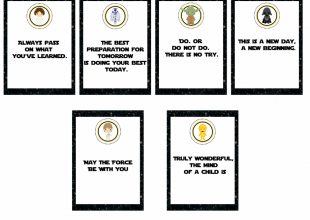 Star Wars Back To School FREE Printables