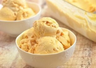 No-Churn Pumpkin Ice Cream