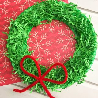 DIY Paper Christmas Wreath