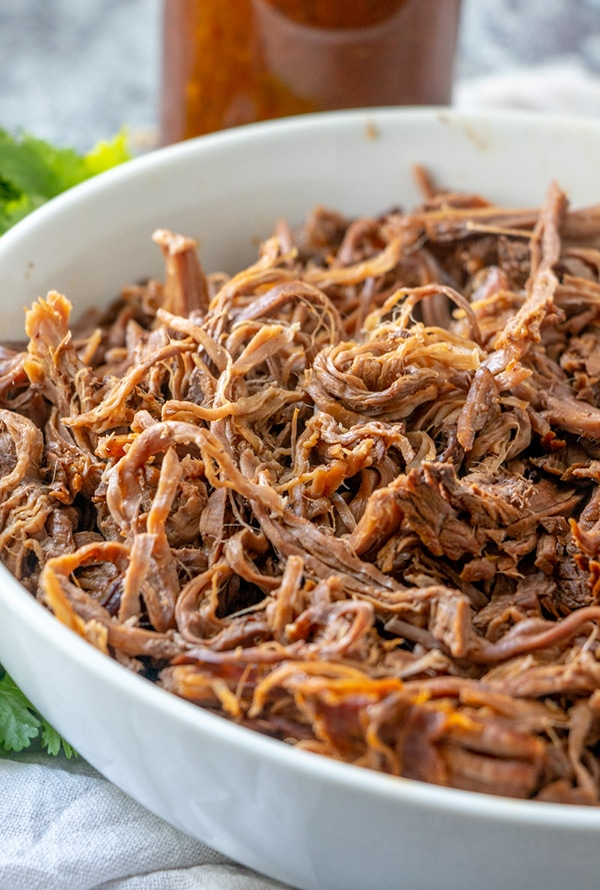 Tender, juicy barbacoa beef is perfect for taco filling, enchiladas and more.