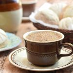 Mexican Hot Chocolate in a brown cup