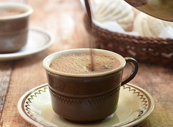 Decadent Mexican Hot Chocolate is a perfect treat on a winter day