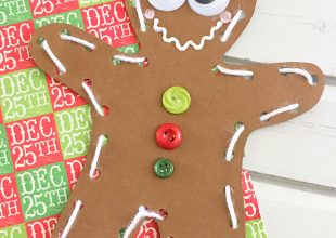 DIY Gingerbread Man Ornaments