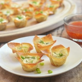 Crab Rangoon Wonton Cups