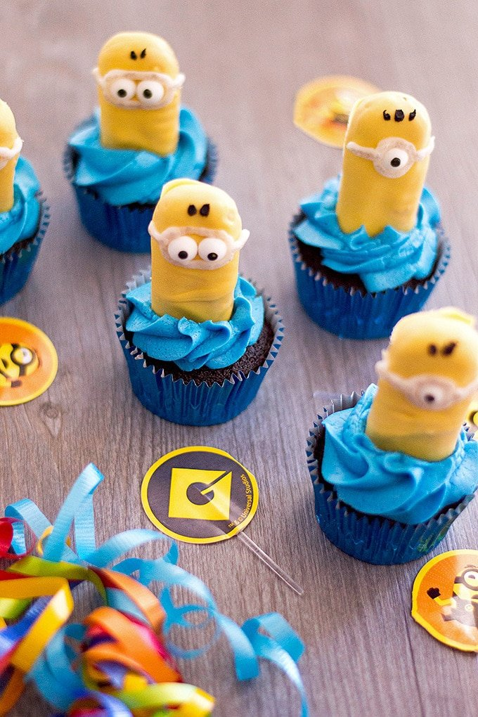 Minion Cupcakes Onion Rings Things