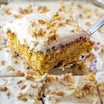 Best carrot cake recipe in a baking pan