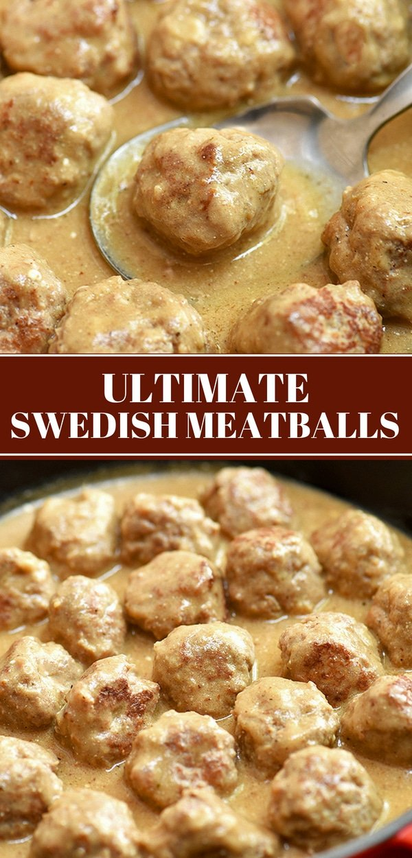 Swedish Meatballs in a pan