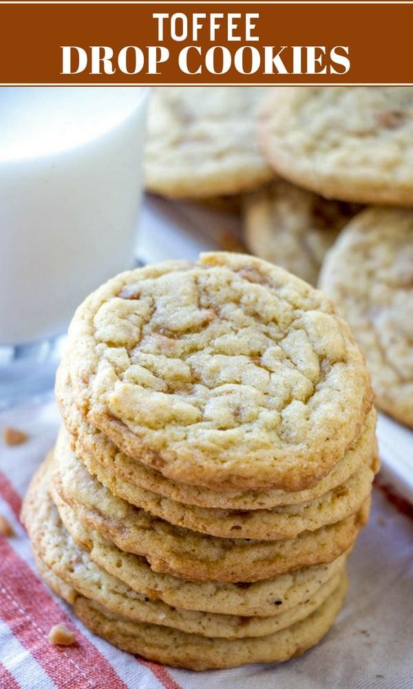 toffee bits cookies