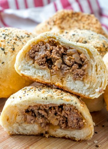 Sloppy Joe Bread Rolls