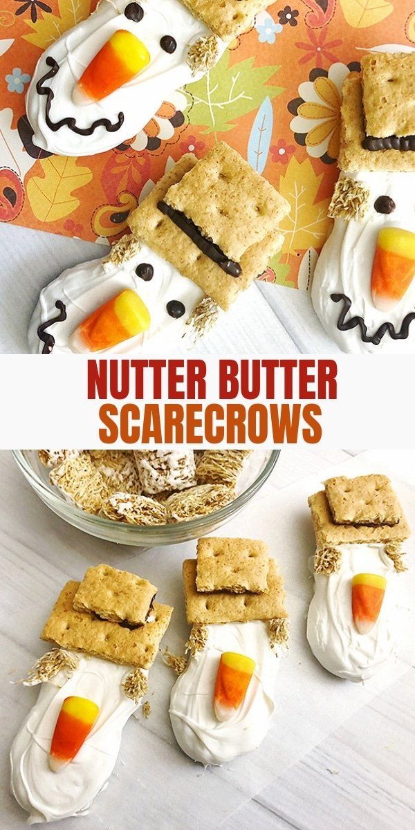 scarecrow nutter butter cookies