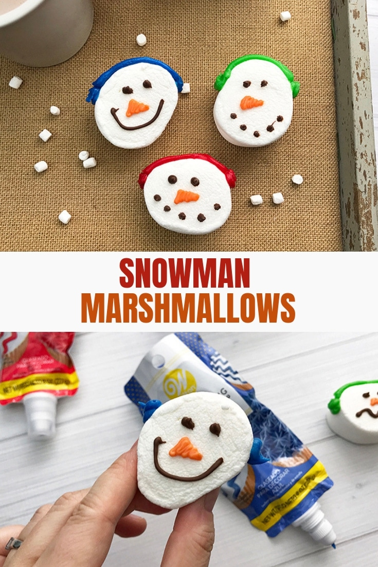 Jumbo Snowman Marshmallows