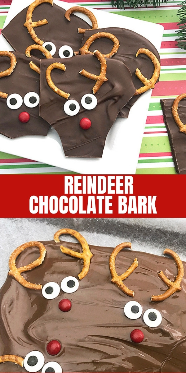 Reindeer Chocolate Bark