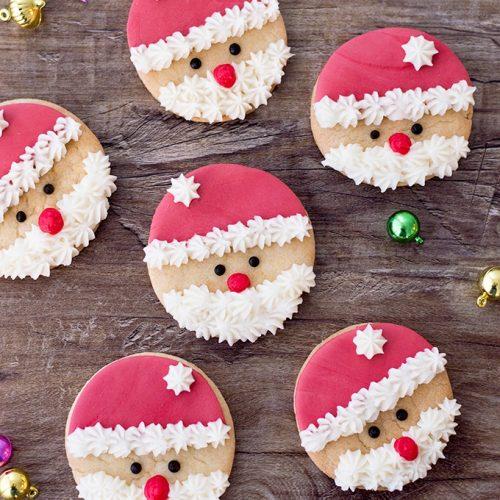 Santa Claus Sugar Cookies