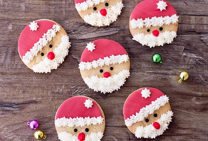 Santa Claus Sugar Cookies Onion Rings Things