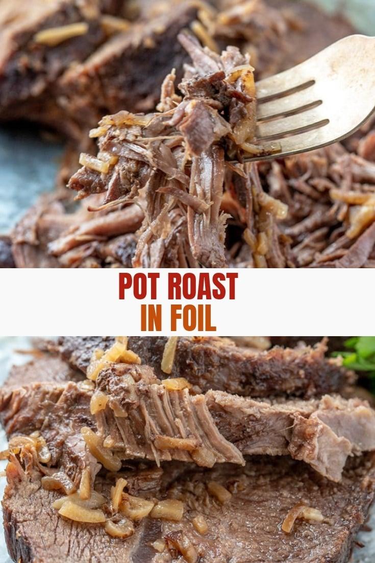 Beef Roast in Foil