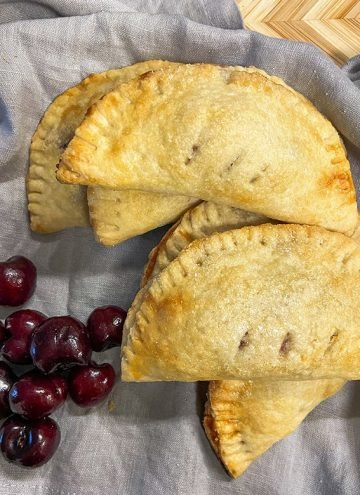 hand pies with cherry filling